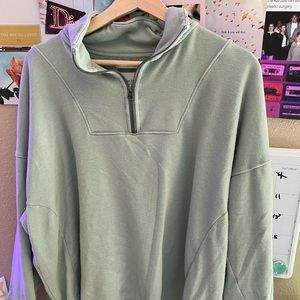 American Eagle half zip sweatshirt